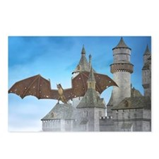 dragon_laptop_skin Postcards (Package of 8)