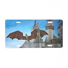 dragon_laptop_skin Aluminum License Plate