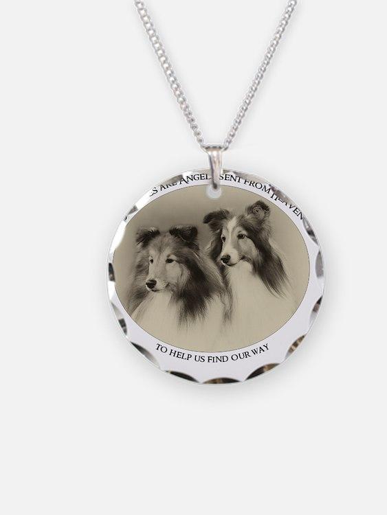 Vintage Angels Necklace