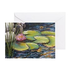 Magic Pond Greeting Card
