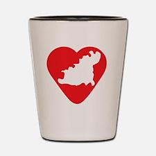 love-Guernsey-post-card-size Shot Glass