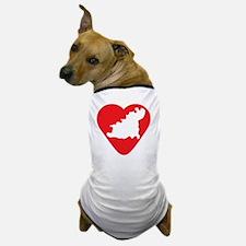 love-Guernsey-post-card-size Dog T-Shirt