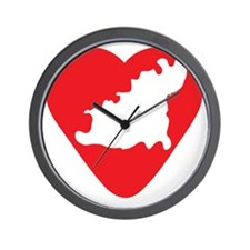 love-Guernsey2 Wall Clock