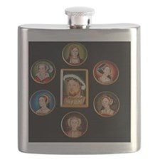 henry-wives-set-l Flask