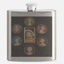 henry-wives-set-l Flask