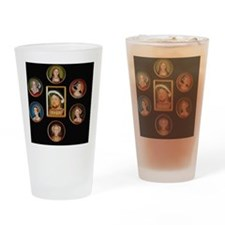 henry-wives-set-l Drinking Glass