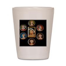 henry-wives-set-l Shot Glass