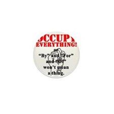 OccupyEverthing Mini Button
