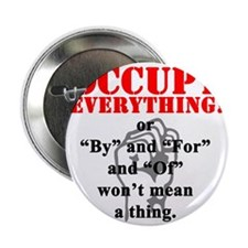 "OccupyEverthing 2.25"" Button"