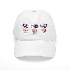 Happy Hanukkah Friends Baseball Cap