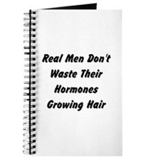 Cute Real men don't sparkle Journal