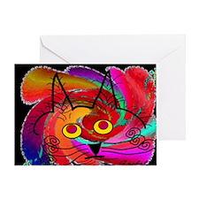 cat puzzle Greeting Card