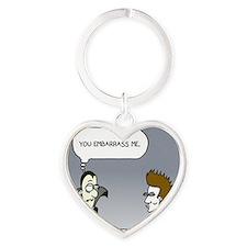 vampires Heart Keychain