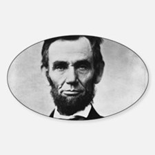 abe lincoln puzzle Decal