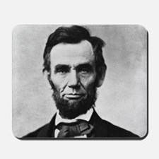 abe lincoln puzzle Mousepad