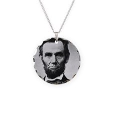 abe lincoln puzzle Necklace