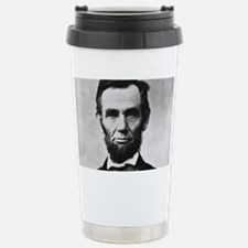 abe lincoln puzzle Travel Mug