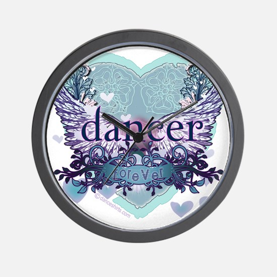 Dancer Forever by Danceshirts.com Wall Clock