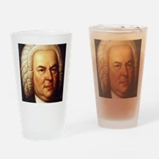 bach puzzle Drinking Glass