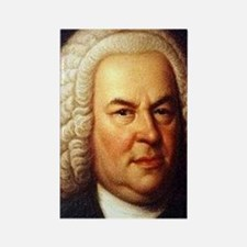 bach puzzle Rectangle Magnet