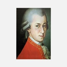 mozart puzzle Rectangle Magnet