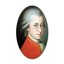 mozart puzzle Wall Decal