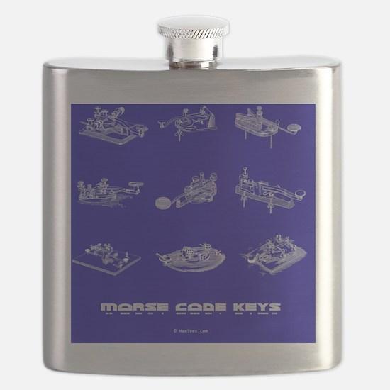 opaq blue straight keys - 3Q copy Flask