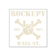 "roccupy-DKT Square Sticker 3"" x 3"""