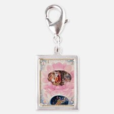 greeting_card_ta0202 Silver Portrait Charm