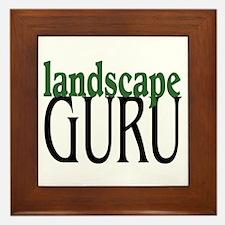 Landscape Guru Framed Tile