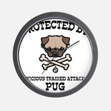 pug-protected-LTT Wall Clock