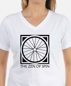 zenSpinBlack4Whitet Shirt