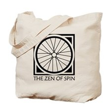 zenSpinBlack4Whitet Tote Bag