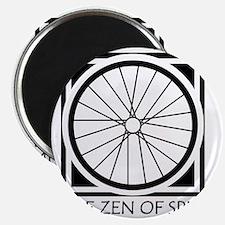zenSpinBlack4Whitet Magnet