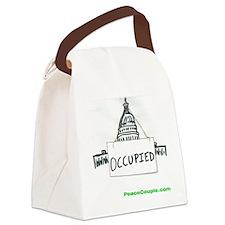 occupy congress shirt Canvas Lunch Bag