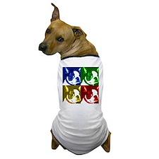 Pop Art Boston Terrier Dog T-Shirt