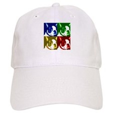 Pop Art Boston Terrier Baseball Cap