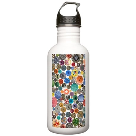 Buttons Clutch Vertica Stainless Water Bottle 1.0L