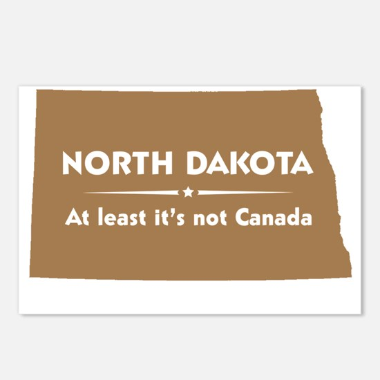 North Dakota.Not Canada Postcards (Package of 8)