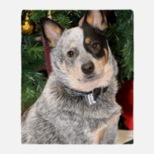 AustralianCattleDog-BlueHeeler Throw Blanket