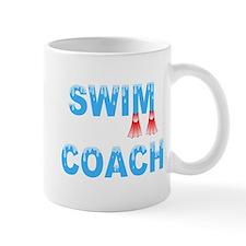 Swim Coach Blue Mug