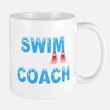 Swim Coach Blue Mug