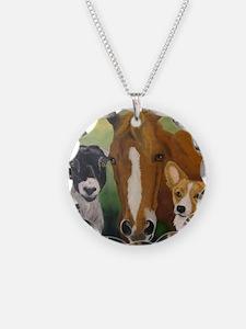 Sarahs Pets 3 Necklace