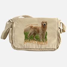 GoldenSmilesMerge2 Messenger Bag