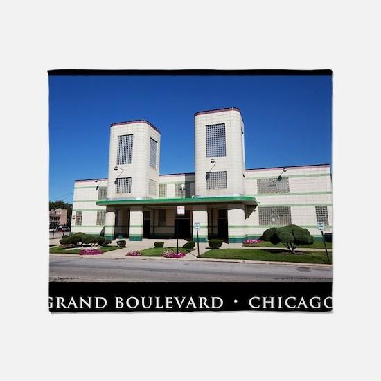 17Sep11_Grand Boulevard_016-POSTER Throw Blanket