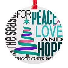 D Thyroid Cancer Ornament