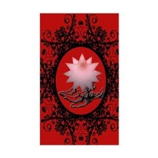 hand-red Decal