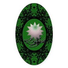hand-green Decal
