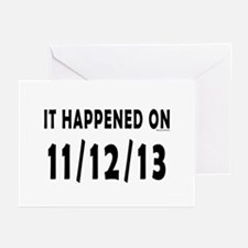 11/12/13 Greeting Cards (Pk of 20)