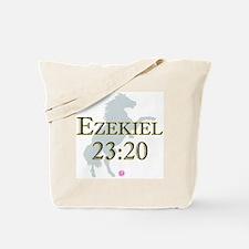 Ezekiel-horse-design-1 Tote Bag